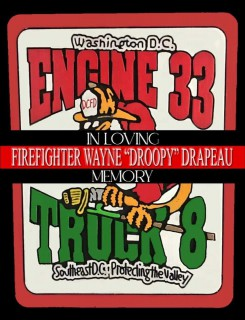 Arrangements for Firefighter Drapeau