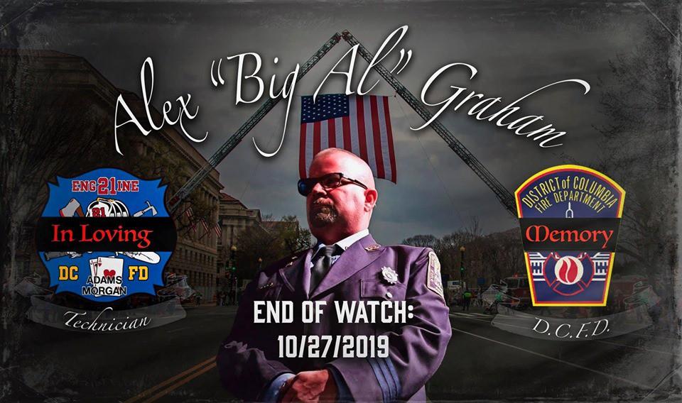 Line of Duty Death Funeral Arrangements: Alex Graham